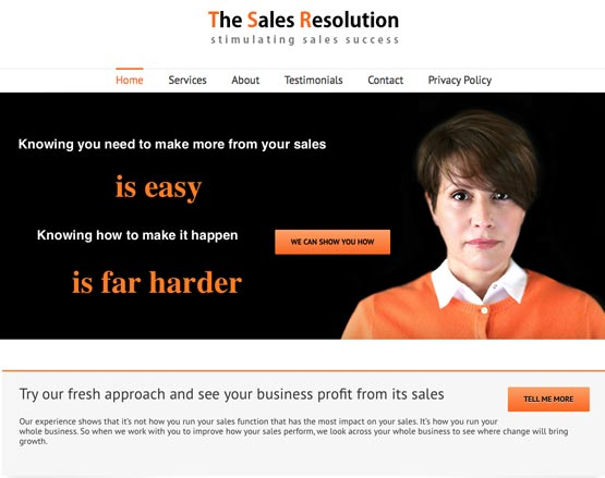 The Sales Resolution